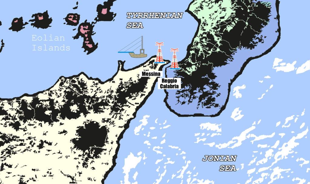 area dello stretto